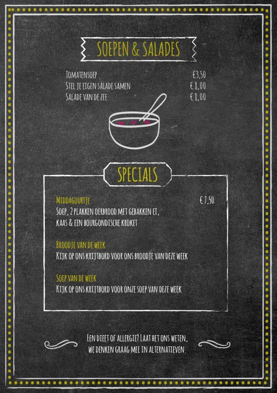 Mozaïek menu